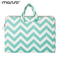 MOSISO Canvas Women Laptop Briefcase Bag Handbag 11 13 14 15 6 Inch Sleeve Carrying Case