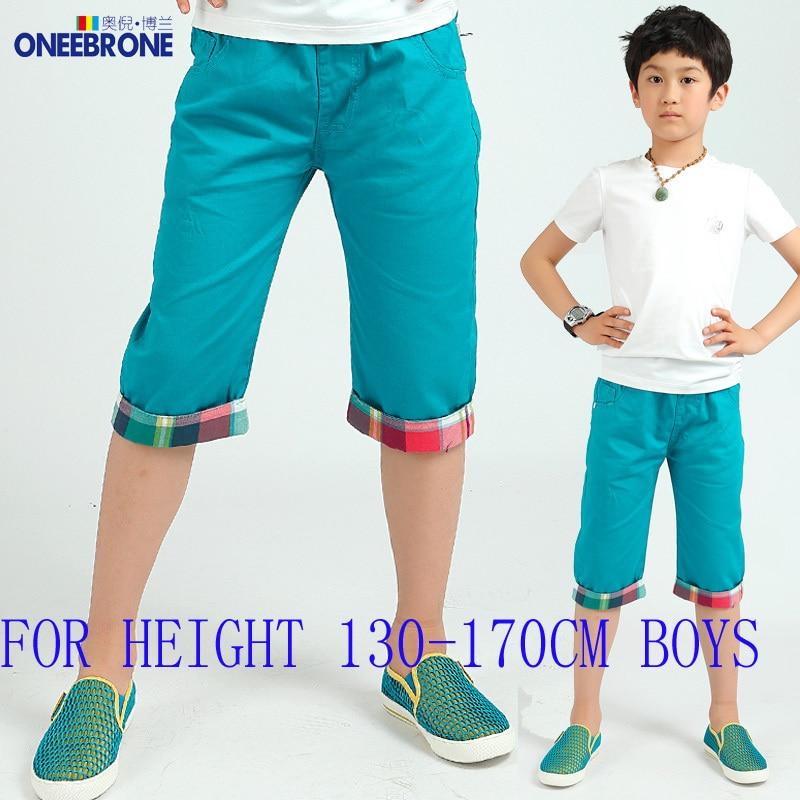 Aliexpress.com : Buy Boys Capri pants cropped trousers fashionable ...