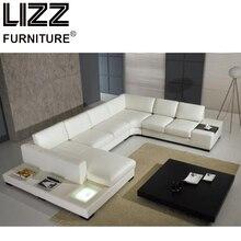 ФОТО Furniture Set  Leather Sofa  Living Room Modern Sofa Loveseat Chair Chesterfield