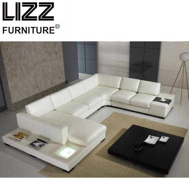 Furniture Set Genuine Leather Sofa For Living Room Modern Sofa ...