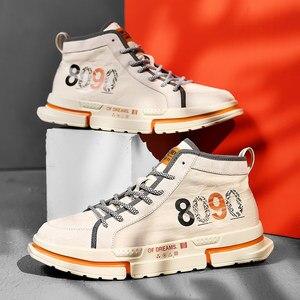 Zapatos de Skateboarding de estilo callejero para hombres, nuevos Zapatos para hombres, Zapatos planos plisados, Zapatos para Hombre, negro/blanco