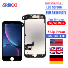 цена на For iPhone 7 Plus 7G LCD Full Assembly Complete Set LCD With 3D Touch Screen Replacement Display 7plus LCD Ship From US UK DE CN
