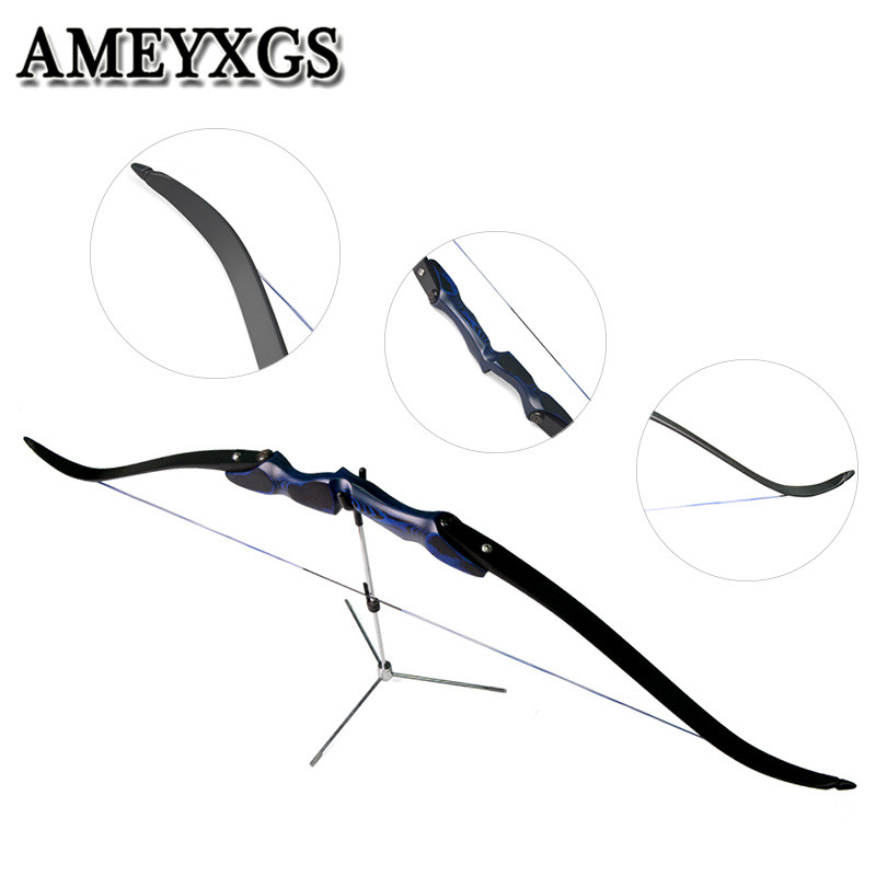 60 ILF Takedown Archery Recurve Bow 30-60lbs Limbs Riser Right Hand Camping For Outdoor Hunting Shooting Accessories