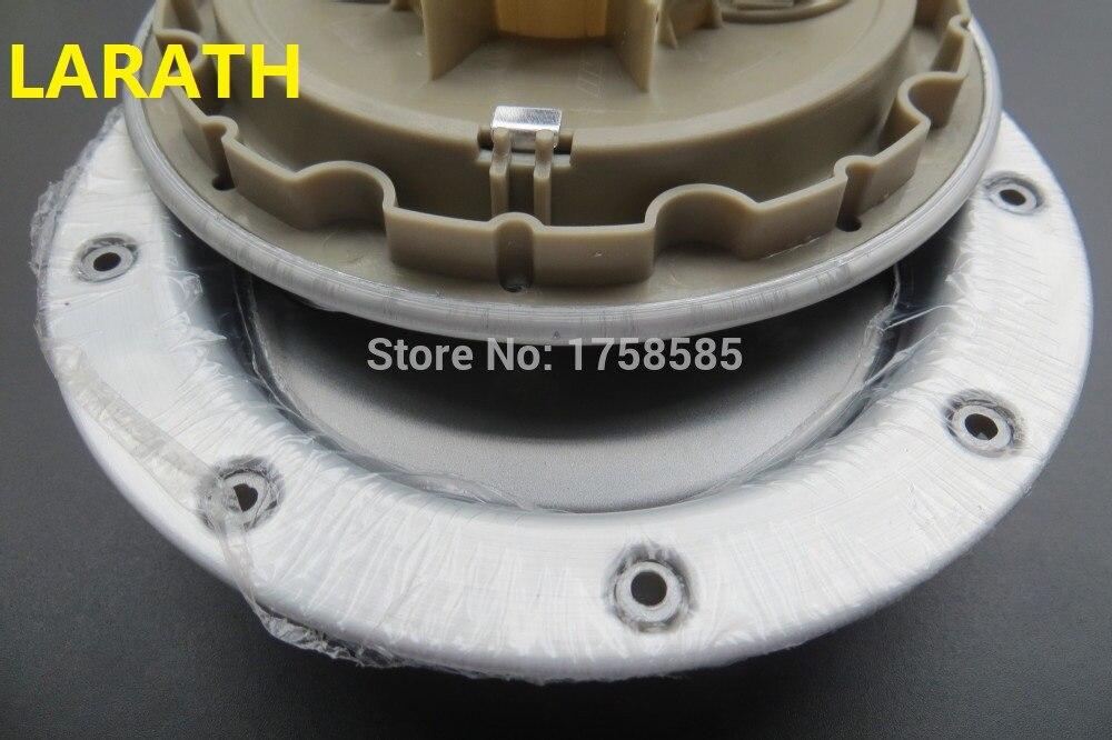 LARATH 4 pcs * 146mm Jante couverture de center de roue hub caps pour Audi TT emblème De Voiture Badge Roue Center Hub Cap 8D0601165 K Car styling