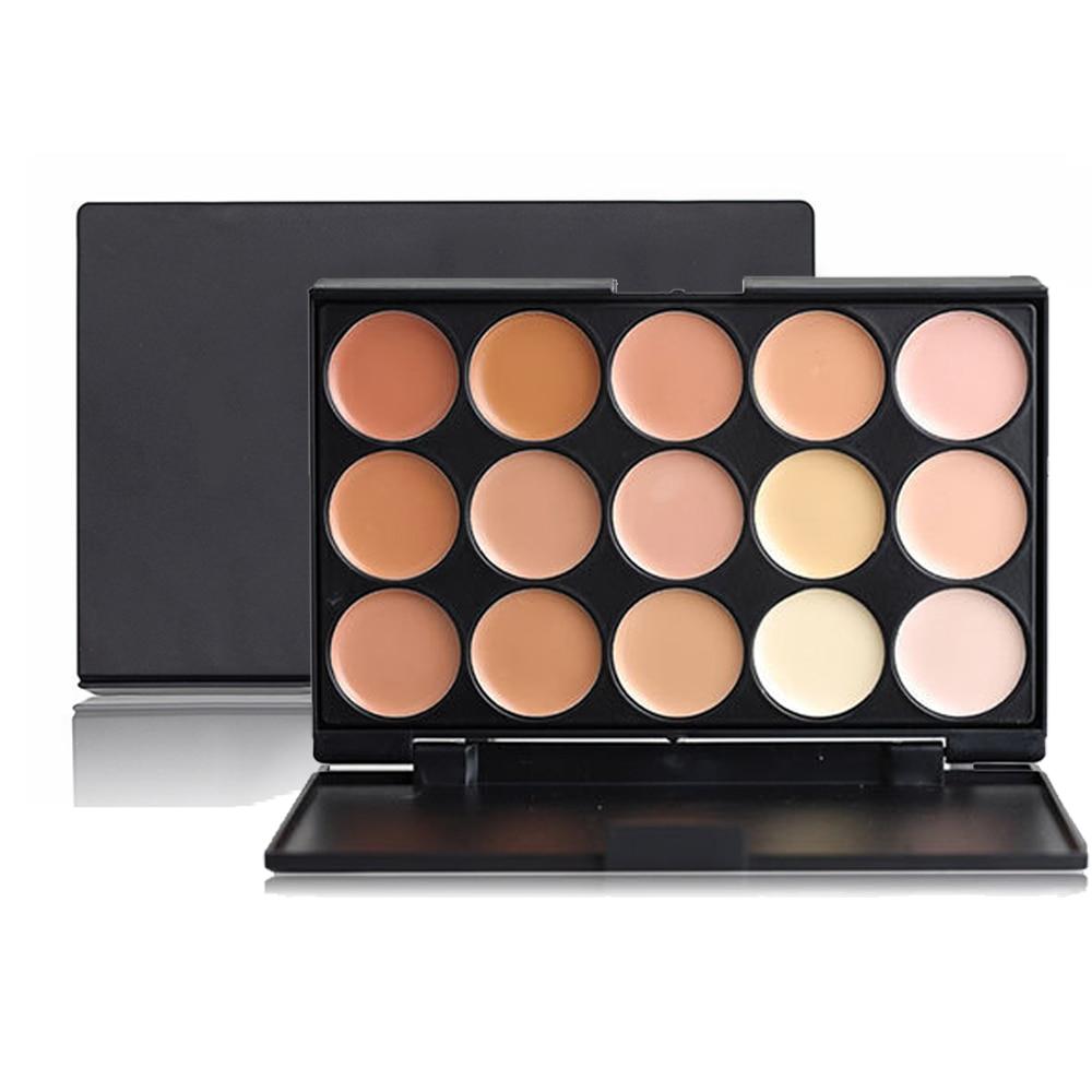 Professional Makeup Concealer Tone Base Skin Color Eyeshadow Palette Face Cream Contour 15 Colors Palettes Eye Shadow Kits Set
