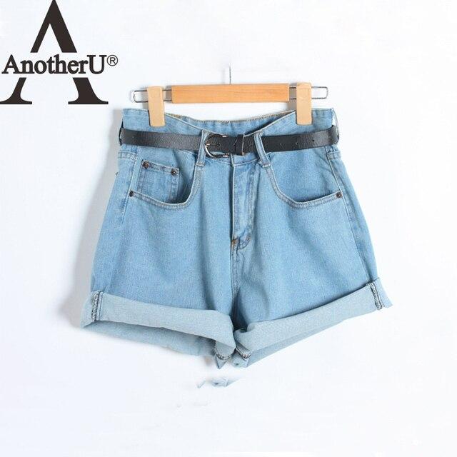Высокая талия шорты оптовая пастушка джинсовые шорты женские женские летняя мода свободные шорты джинсы