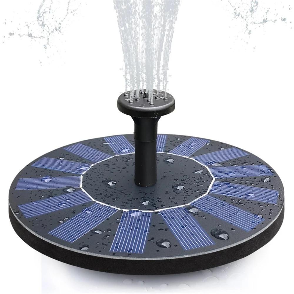 Outdoor Solar Birdbath Fountain Pompa Air Tenaga Surya Air Mancur Panel Kit Untuk Burung Bak Mandi Air Panas Kolam Kecil Taman Dan Halaman Lampu Bawah Air Aliexpress