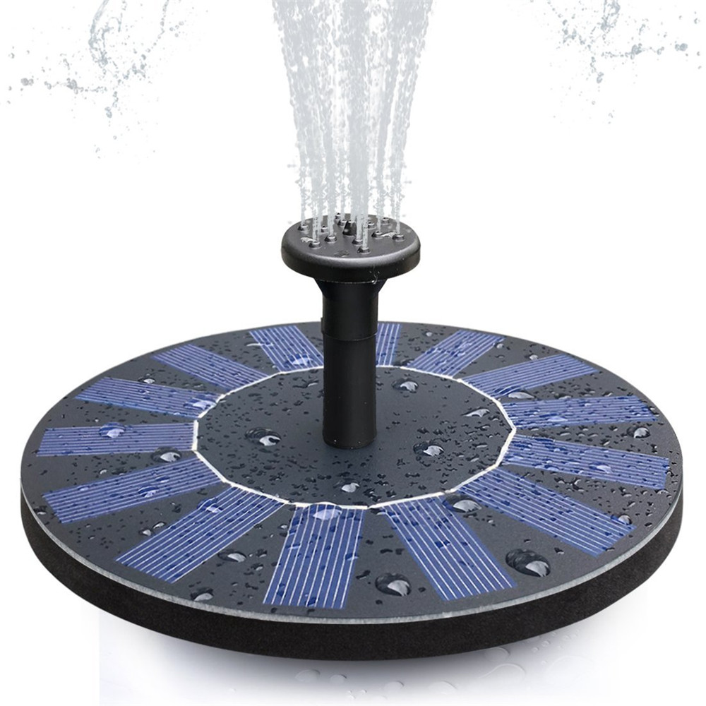 Solar Birdbath Fountain Pump 1 4w Solar Outdoor Water