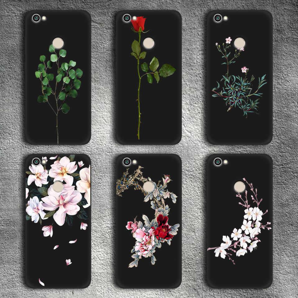Матовая цветение чехол для телефона для Xiaomi Redmi 4A 4X S2 полная защита для Redmi версия 4 7 4X 5A Prime 5 6 iPad Pro Цвет Fundas
