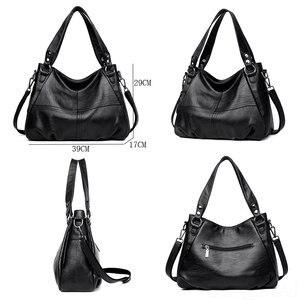 Image 3 - 2019 Sheepskin Leather Ladies Handbags Female Messenger Bags Designer Crossbody Bags for Women Tote Shoulder Bag for Girls Bolsa