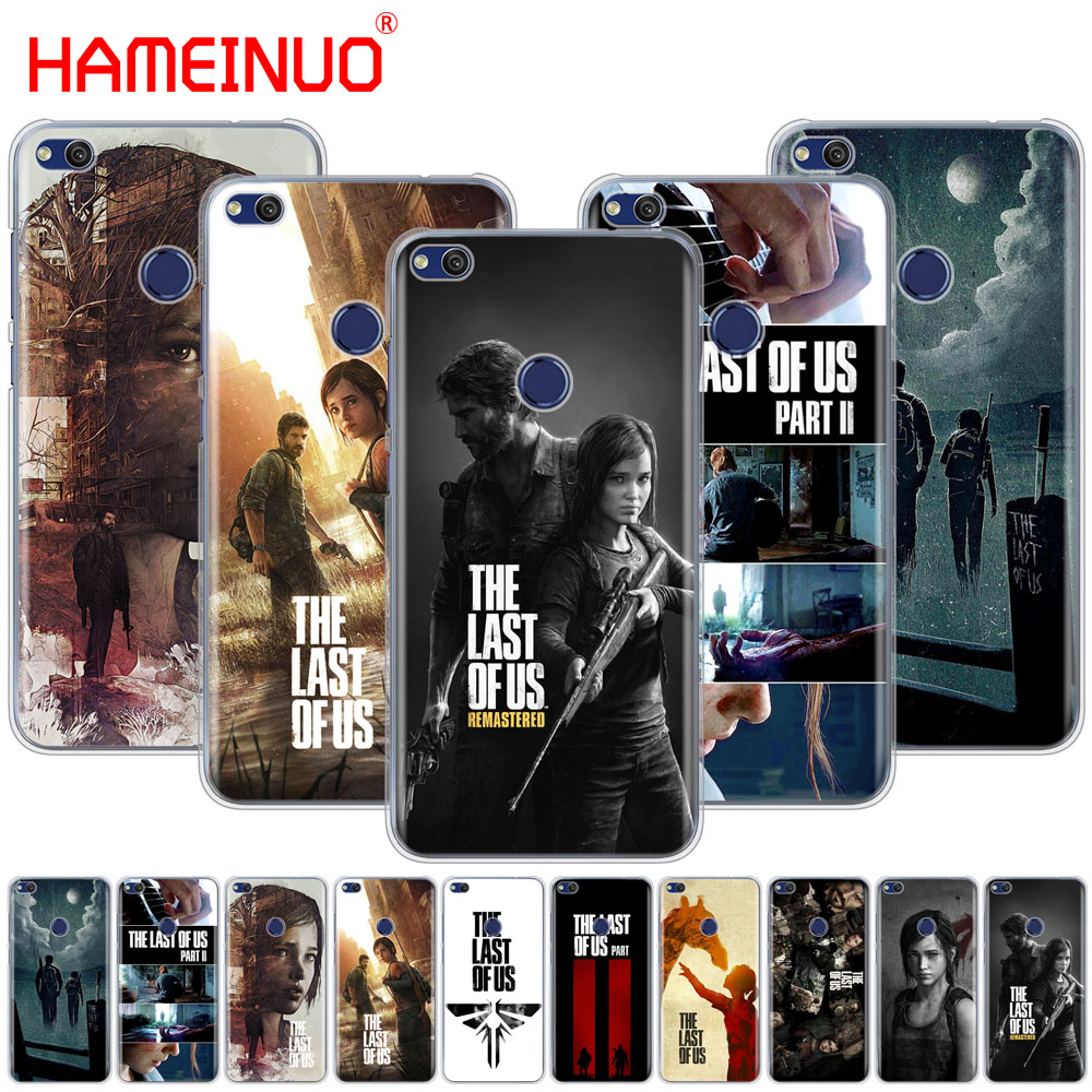 HAMEINUO The Last Of Us game Video games Part 2 Cover phone Case for huawei Ascend P7 P8 P9 P10 P20 lite plus pro G9 G8 G7 2017 image