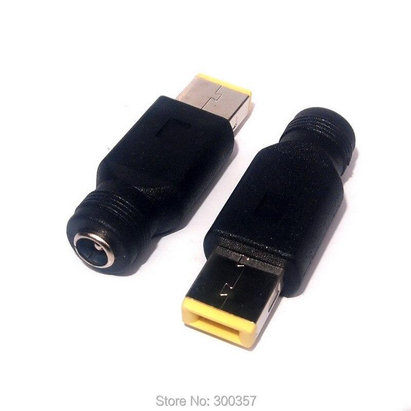 جدید 5.5 * 2.1 نکات قابل حمل مربع USB DC برای - کابل های رایانه ای و اتصال دهنده ها
