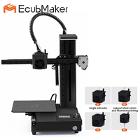 2019 Original EcubMaker ToyDIY 4in1 3D Printer/LASER materials wood PMMA Leather plastic/express shipping from Moscow
