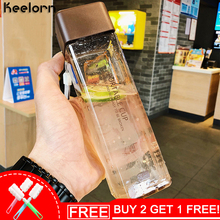 Keelorn Children Water Bottle Cartoon Creative water glass children thermal insulation applicable bottle cup