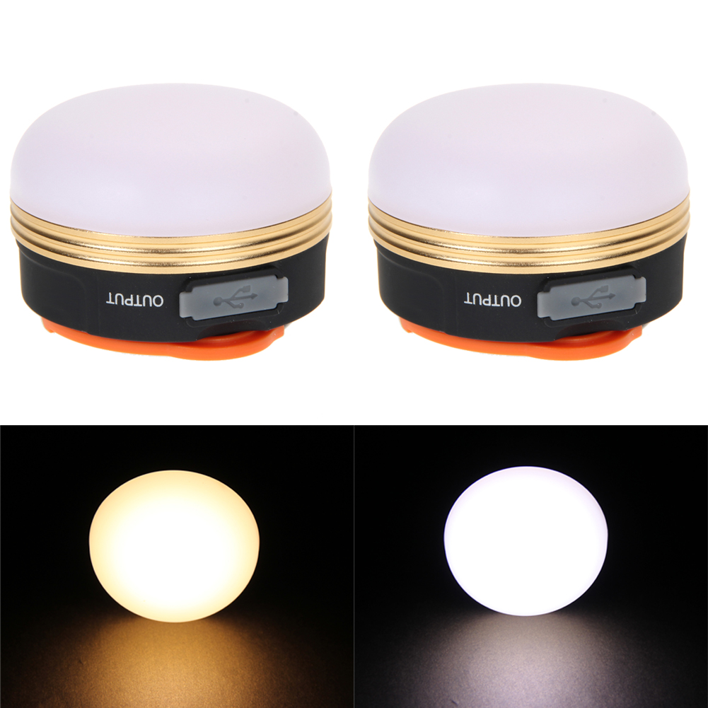 300LMs 3W Bright Strong USB Rechargeable CREE LED Glare Outdoor Camping Light Bulb Fishing Lantern Tent Lamp Portable Lights