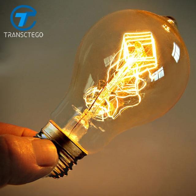 Rétro personnalité edison ampoule de tungst¨ne lampe ampoules fil