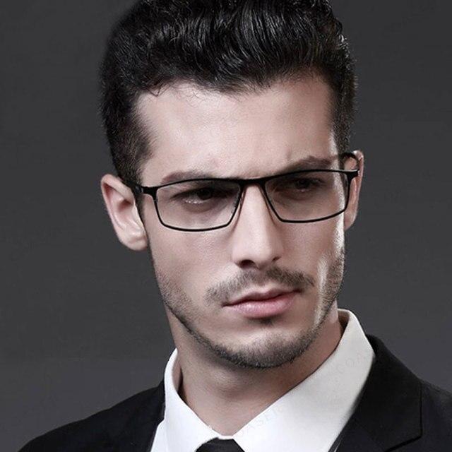 Reven Очки Оптические Очки P8184 Titanium Бизнес Мужчины Очки По Рецепту для Успешного Человека Очки Очки