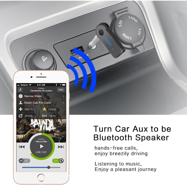 Blutooth Wireless Aux Plug 4
