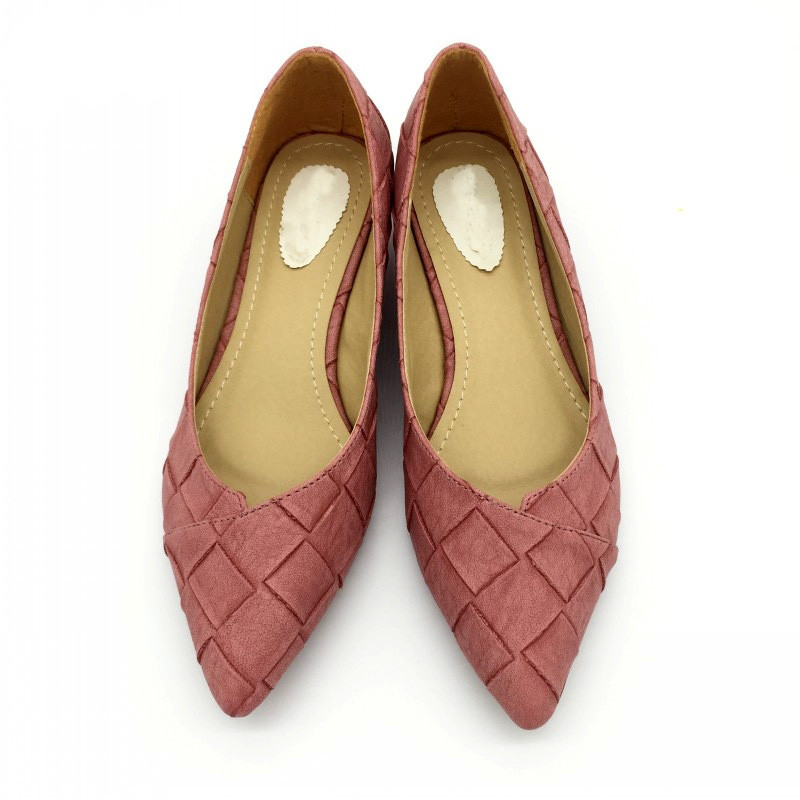 Vintage-Style-Women-s-Pointed-Toe-Pumps-Spring-Autumn-PU-Shallow-Slip-On-Women-Low-Heel (2)
