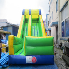customized inflatable slide bouncer with blower YLW-173 inflatable playground toys