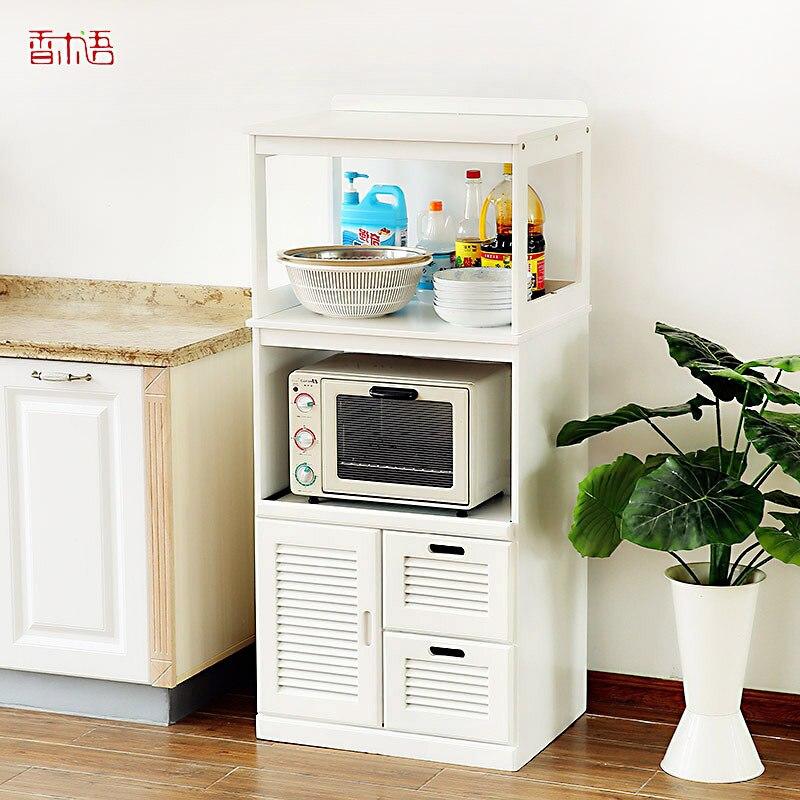 Xiangmu lingua di mobili in legno massiccio credenza for Cucina in armadio