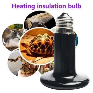 Image 3 - ICOCO 25W 50W 75W 100W 150W 200W IR ısı yayıcı ampul seramik ısıtma lambası pet sürüngenler ve amfibi Drop Shipping satış