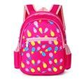 Bolsos de escuela los niños 2016 al por mayor nuevos Niños de Kindergarten Schoolbag lienzo de Impresión mochila infantil