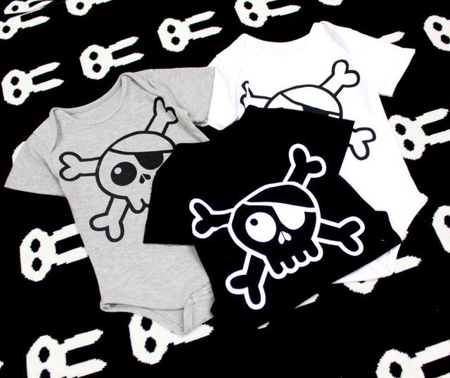 2016 verão bebé novo clohtes bobo choses nununu bebê macacão trigonométricas crânio impresso meninos roupas roupa dos miúdos vetemen