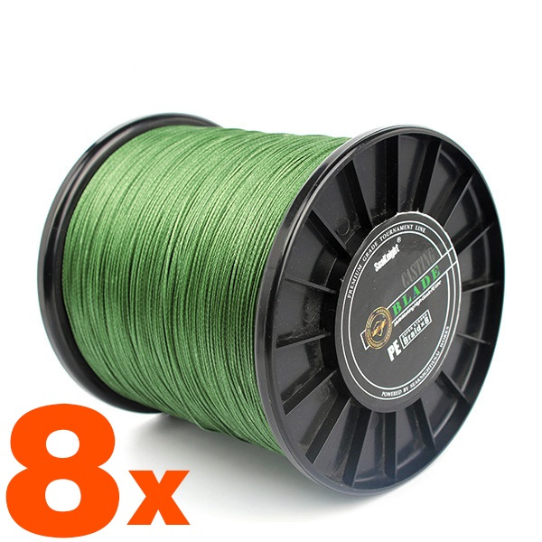 Super 500M X 8 Strands Braided Fishing Line for Fishing Multifilament PE Line linha multifilamento para pesca 8 fios