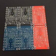 Upc1237 alto falante amplificador de proteção pcb placa vazia vermelho/azul/preto opcional