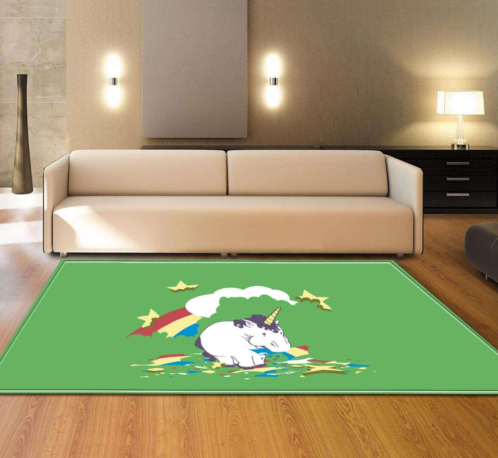 Creative bedroom Carpet for living room floor mat Rug Child Room Computer Chair Mat Kids bathroom Anti-slip Household Decoratio