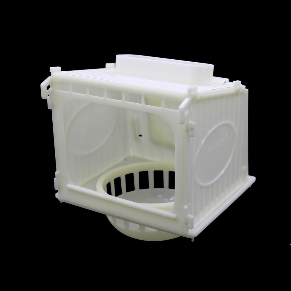 1 Pc Palstic Brid Nest Pigeon Parrot Canary Quail Hatching Room White Birds Home And House Bird Supplies
