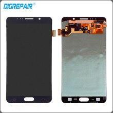 """5.7 """"pulgadas Azul Para Samsung Galaxy Note 5 N9200 Pantalla LCD Pantalla Táctil Digitalizador Asamblea Completa de piezas de Repuesto"""
