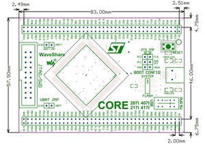 Image 5 - Core407I STM32F4 Core Board STM32F407IGT6 STM32F407 STM32 Cortex M4 Evaluation Development Board with Full IOs