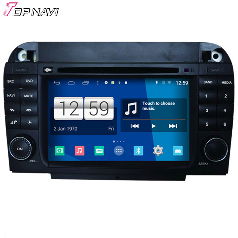 Topnavi S160 Quad Core Android 4.4 Car DVD Multimedia Player for S Class Old For Benz Au ...
