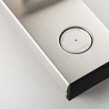 Rfid карты, цифровой замок двери электронные Keyless безопасности запись 304 Нержавеющая сталь в серебре
