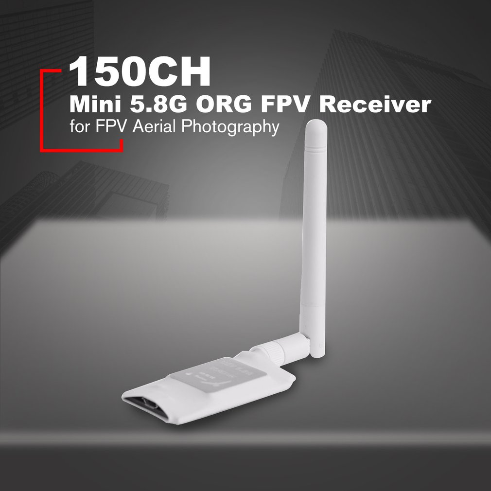 150CH 5.8g Mini Transmission FPV Récepteur UVC Vidéo Liaison Descendante OTG VR Lunettes pour VR Android Téléphone FPV Drone Avion quadcopter Nouveau