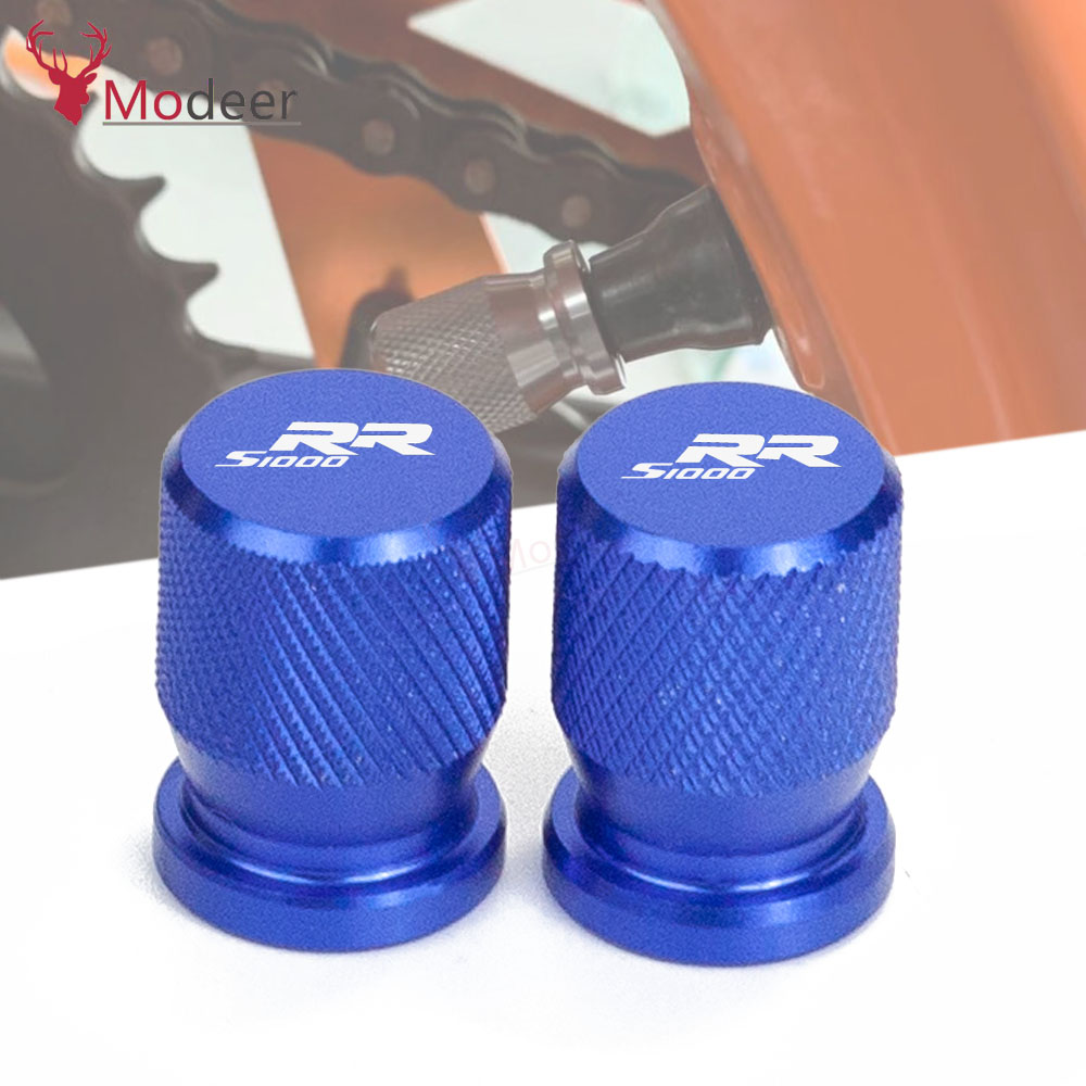 Motorcycle <font><b>Accessories</b></font> Wheel Tire Valve caps CNC Aluminum Airtight Covers For <font><b>BMW</b></font> S1000RR <font><b>S</b></font> 1000RR S1000 <font><b>RR</b></font> <font><b>1000</b></font> High quality image