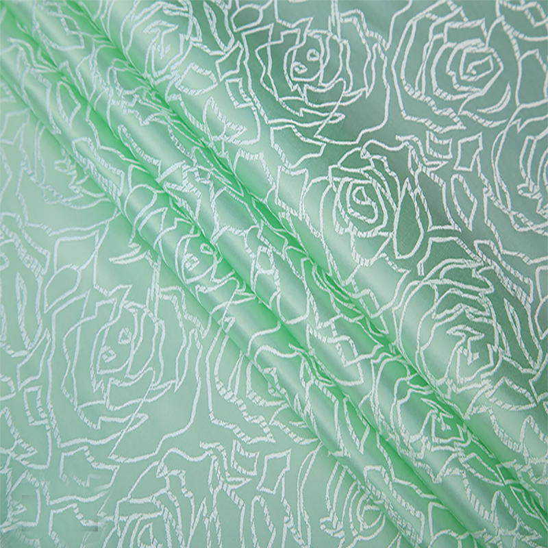 90cmx50cm green Metallic Jacquard Brocade Fabric,Japanese wind 3D jacquard yarn dyed fabric for clothing,bedding,bag,curtain