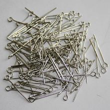 wamami 10g 24mm Silver Eye Pins Plated For BJD Dollfie Jewelry Findings DIY Craft