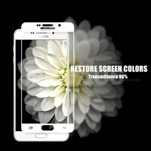 Image 4 - 9D ป้องกันแก้วสำหรับ Samsung Galaxy A3 A5 A7 J3 J5 J7 2016 2017 S7 กระจกนิรภัยหน้าจอ Protector แก้วฟิล์ม