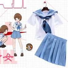 Новое поступление аниме-убить ла убить dakimakura косплей костюмы короткими рукавами JP школьная форма костюмы