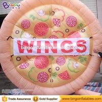 Хорошее качество надувные пиццы, пицца модель с вентилятором для питание тема или ресторан Дисплей Надувные игрушки