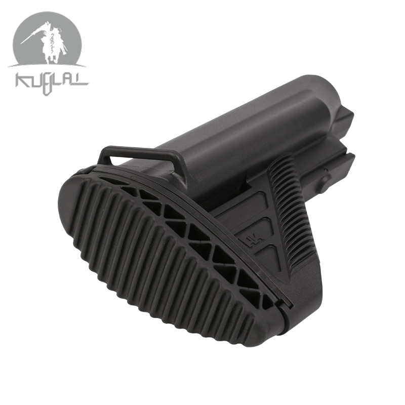 New Non-slip Nylon Stock 416 Stock Minimalist Tactical Mil-Spec Black/Tan  Outdoor Camping Components