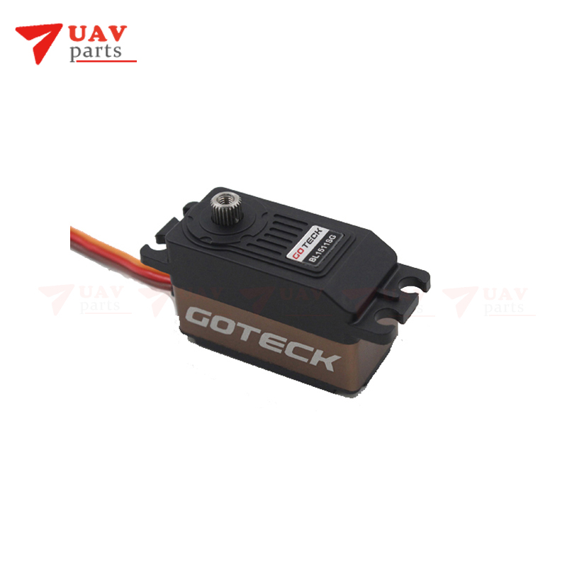 Goteck High Torque High Speed Brushless Servo Motor BL1511S For RC Car Mode/Fixed-wing Aircraft/Helicopter