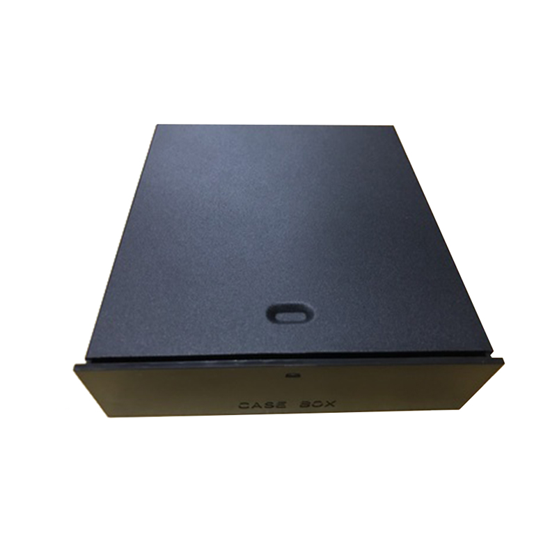 New Black 523 Floppy Drives 5.25-Inch Metal Shell Computer Chassis CD-ROM Drive Drawer Storage Box Cabinet Cigarette Storage Box