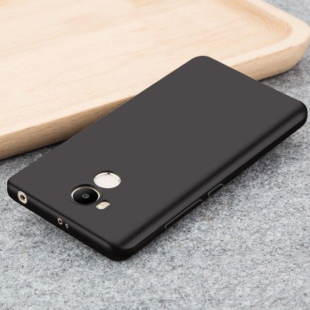 Lembut TPU Case untuk Xiaomi Redmi 4 Pro Prime Buram Silikon Slim Pelindung Kembali Penuh Ponsel Shell untuk Xiaomi Redmi 4 pro 32G
