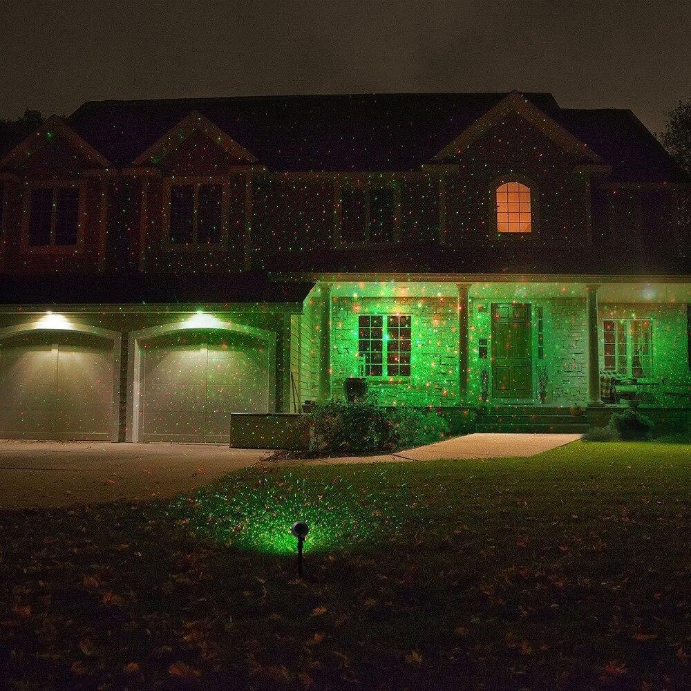 Laser Kerstverlichting Outdoor Ip65 Waterdicht Rood Groen Outdoor