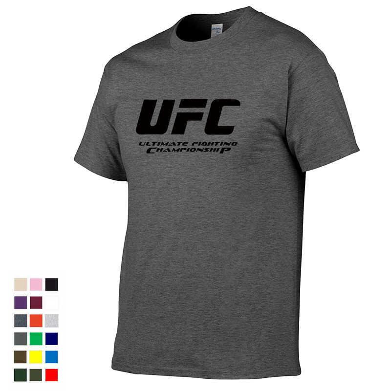 dfed16ab9e5e Ultimate Fighting Championship UFC men t Shirt 2019 100% cotton t Shirt  2019 Euro plus