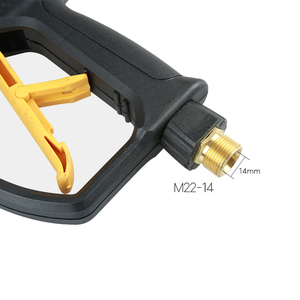 Image 5 - בלחץ גבוה מכונת כביסה אקדח שלג קצף לאנס תותח עם M14 M18 M22Thread, נקי מים אקדח Diy עצמי שירות רכב כביסה רכב סטיילינג